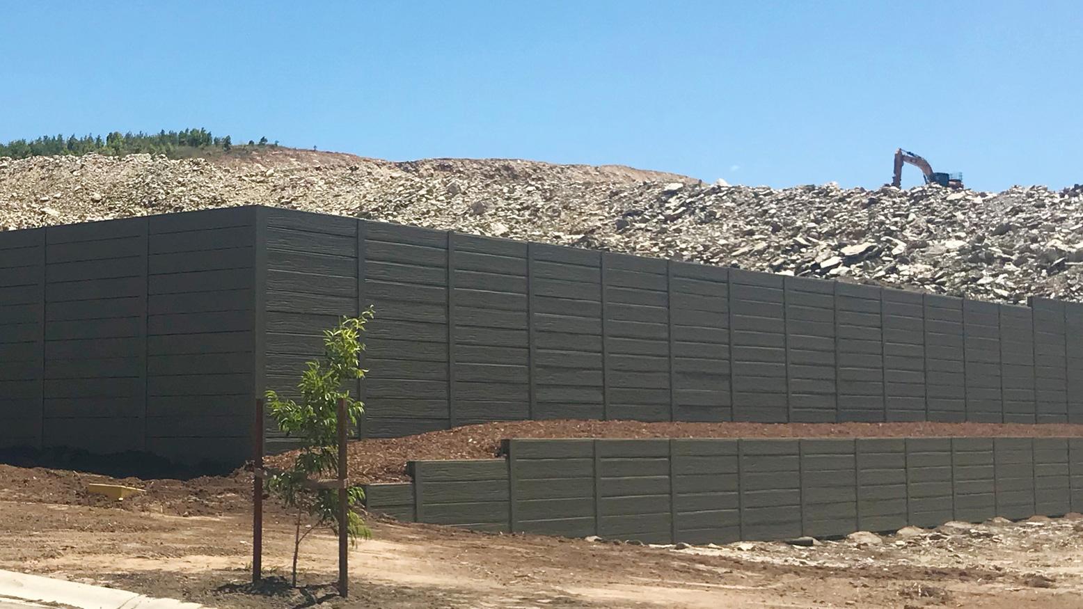 Urban Retaining Walls & Landscaping   Concrete Sleeper Retaining Walls