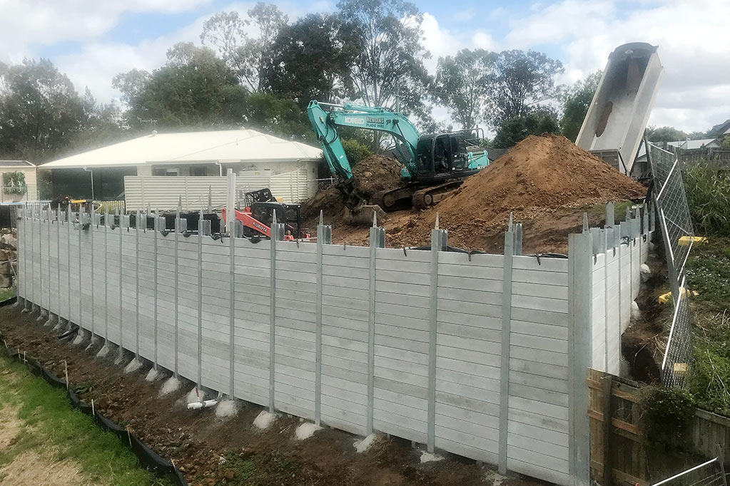 BELLMERE PRIVATE RESIDENCE​ retaining wall